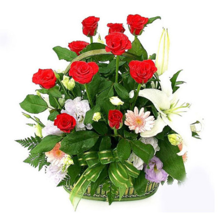 BI 05 - Splendid Basket Arrangement
