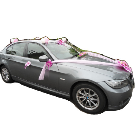Wedding Car Decoration (Handle side)