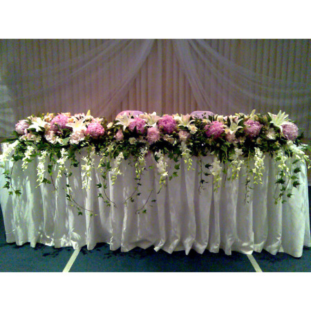 Wedding Table Flower Decoration 10