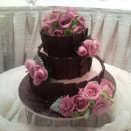 Wedding Cake Flower Decoration 11