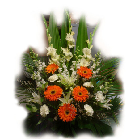 Wedding Church Flower Arrangement 04