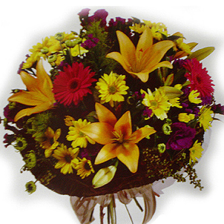 WOW 06 - Autumn Delight Mothers Day Posy