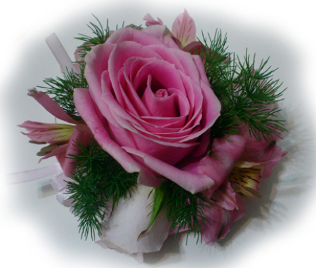 Wedding or Formal Hand Corsage 03