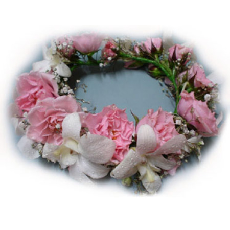 Wedding Flower Crown 01