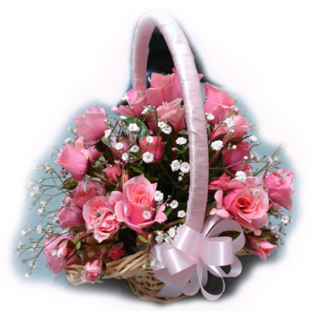 Wedding Flower Girl Basket 02