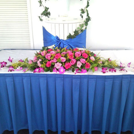 Wedding Table Flower Decoration 14