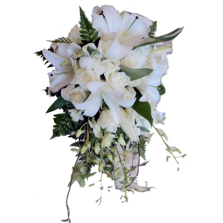 Wedding Tear Drop Bouquet 07