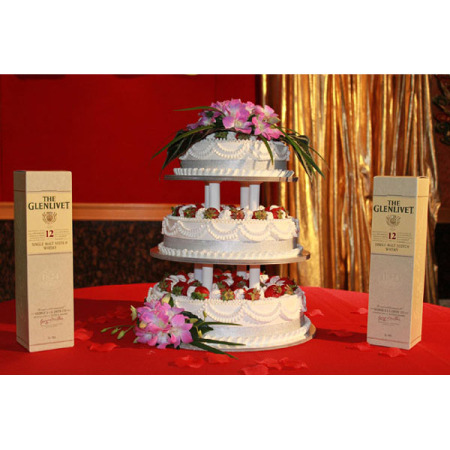 Wedding Cake Flower Decoration 09