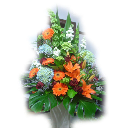 Wedding Church Flower Arrangement 05