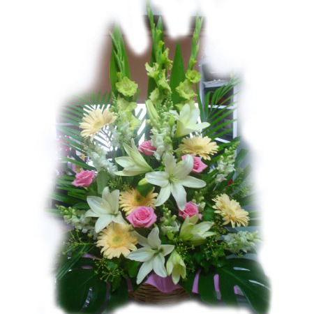 Wedding Church Flower Arrangement 06