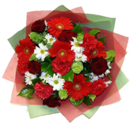 WOW 07 - Bright and Cheery Mothers Day Posy
