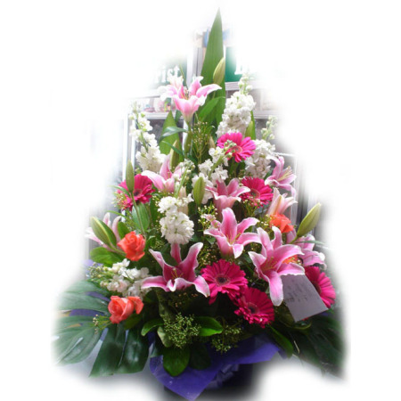 Wedding Church Flower Arrangement 03