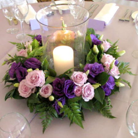 Wedding Table Flower Decoration 02