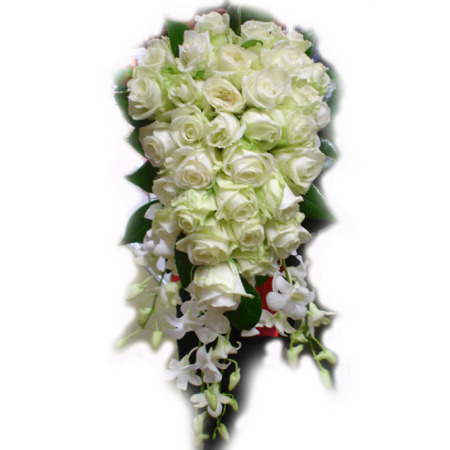 Wedding Tear Drop Bouquet 05