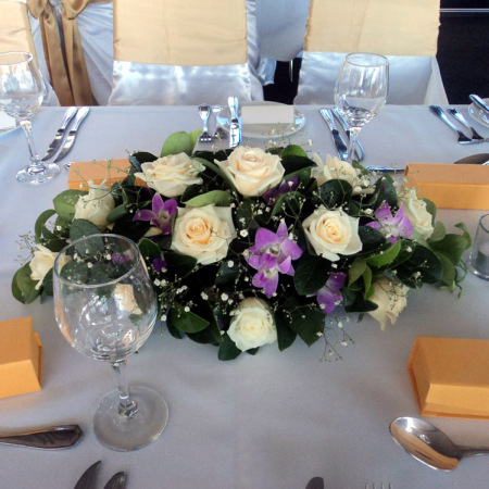 Wedding Table Flower Decoration 18