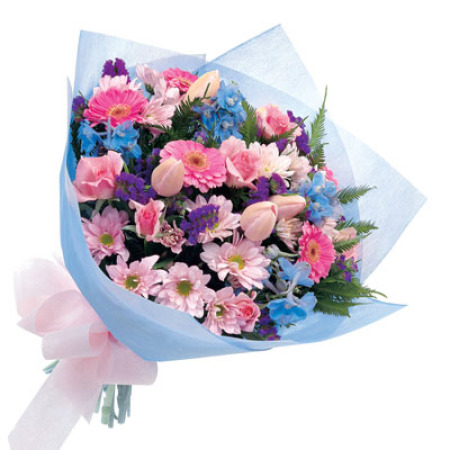 WOW 05 - Soft pink and Purple Posy Mothers Day Special