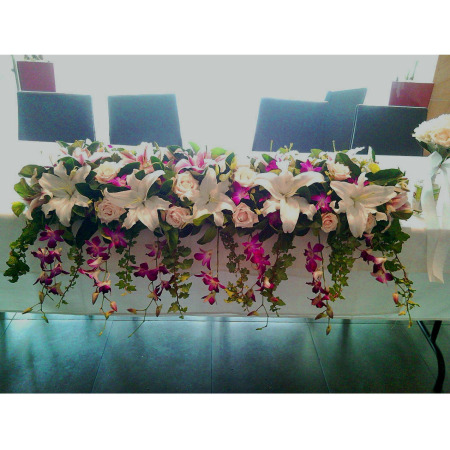 Wedding Table Flower Decoration 15