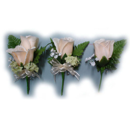 Wedding Buttonhole 35 - Artificials