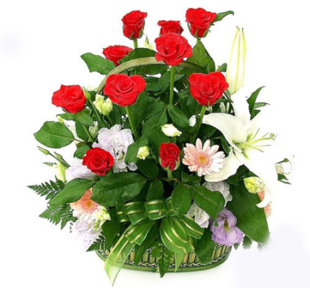 AR 07 - Splendid Basket Arrangement