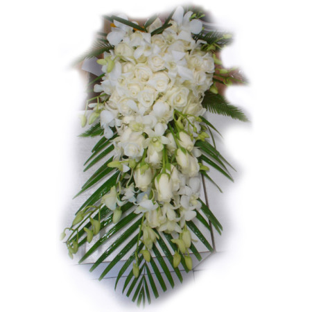 Wedding Tear Drop Bouquet 06