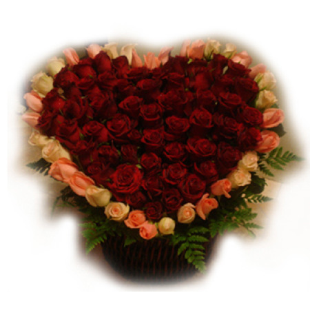 AN 08 - Deluxe Heart Roses