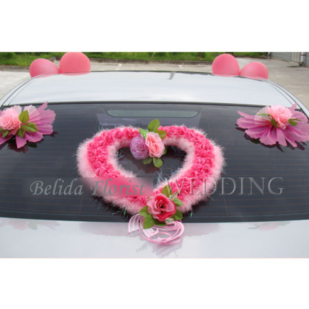 Wedding Car Decoration (Back side)